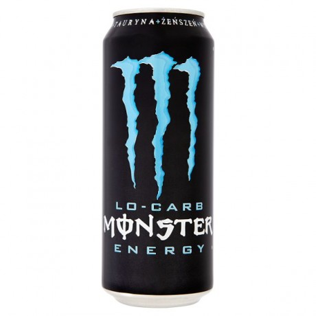 MONSTER LO-CARB ENERGY 0,5l