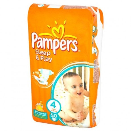 PAMPERS SLEEP&PLAY MAXI 7-18KG 50