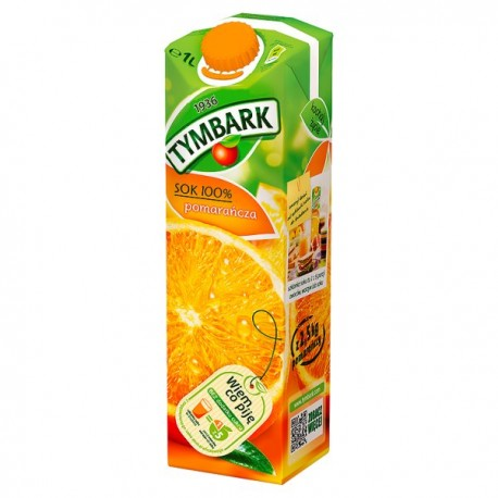 TYMBARK SOK POMARAŃCZOWY 1L